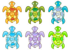 Cartoon turtles Royalty Free Stock Photo