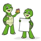 Cartoon Turtles Stock Photo