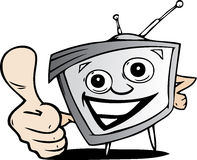 Cartoon tv Stock Photography