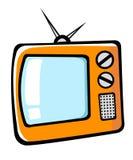 Cartoon TV Stock Image