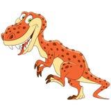 Cartoon tyrannosaurus dinosaur Stock Photos