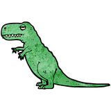 Cartoon tyrannosaurus rex Stock Photos