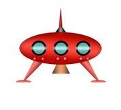Cartoon UFO. Royalty Free Stock Photography