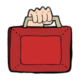 Cartoon uk budget Royalty Free Stock Photo