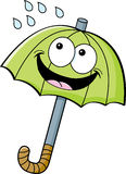 Cartoon umbrella Royalty Free Stock Photography