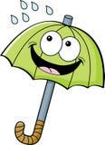 Cartoon umbrella Royalty Free Stock Photography