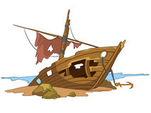 Cartoon Underwater Stock Image