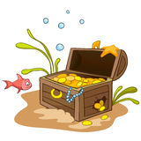 Cartoon Underwater Stock Images