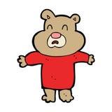 cartoon unhappy bear Stock Photos