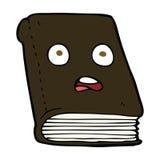 cartoon unhappy book Stock Photos