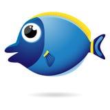 Cartoon unicornfish Stock Photos