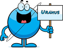 Cartoon Uranus Sign Royalty Free Stock Photography
