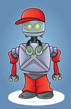 Cartoon urban robot Royalty Free Stock Photo