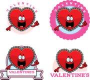 Cartoon Valentine Graphic Stock Photography