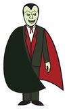 Cartoon Vampire Stock Photography