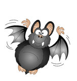 Cartoon vampire bat Stock Images