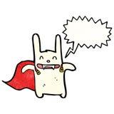 Cartoon vampire bunny rabbit Royalty Free Stock Photos