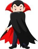 Cartoon vampire character Royalty Free Stock Photography