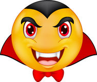 Cartoon Vampire emoticon Stock Images