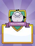 Cartoon Vampire Halloween Graphic Stock Images