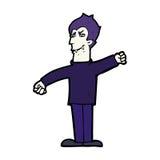 Cartoon vampire man Stock Photo