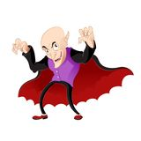 Cartoon vampire Royalty Free Stock Photos