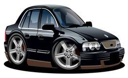 Cartoon vector car Stock Image