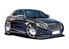 Cartoon vector car Stock Photos