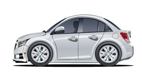 Cartoon vector car Stock Photography