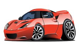 Cartoon vector car Royalty Free Illustration