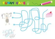 Cartoon Vector Illustration of Education Paths Stock Photo