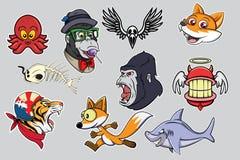 Cartoon Vector set Royalty Free Stock Photos