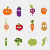 Cartoon vegetable cute Royalty Free Stock Image
