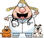 Cartoon Veterinarian Idea Stock Photography