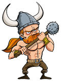 Cartoon viking Royalty Free Stock Photo