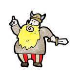 Cartoon viking Royalty Free Stock Photography