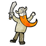 Cartoon viking Royalty Free Stock Images