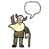 Cartoon viking Royalty Free Stock Photos