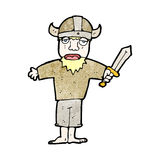 Cartoon viking Stock Photo