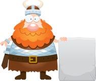 Cartoon Viking Sign Royalty Free Stock Images