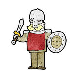 Cartoon viking warrior Stock Photos
