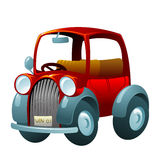 Cartoon vintage car Stock Image