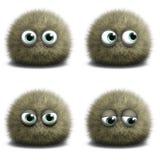 Cartoon virus Stock Photo