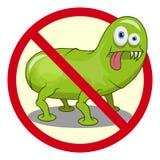 Cartoon virus. Funny micro Virus. Cartoon bacteria character. Vector virus character vector illustration