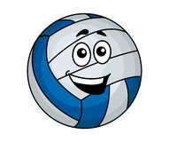 Cartoon volleyball ball Stock Photo