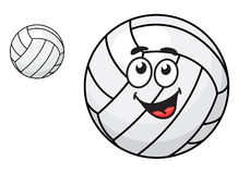 Cartoon volleyball ball Royalty Free Stock Images