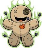 Cartoon Voodoo Doll Magic Royalty Free Stock Image