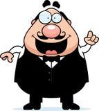 Cartoon Waiter Idea Stock Image