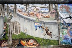Cartoon wall royalty free stock image