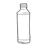cartoon water bottle Stock Image